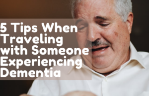 old man with dementia